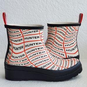 NEW Hunter Platform Spell Out short boots 8/8.5